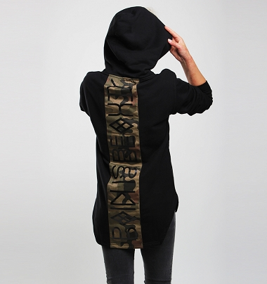 HOODIE ASSASSIN CAMO WOMAN